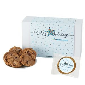 Fresh Baked Cookie Gift Set - 24 Chocolate Chip Cookies - in Gift Box