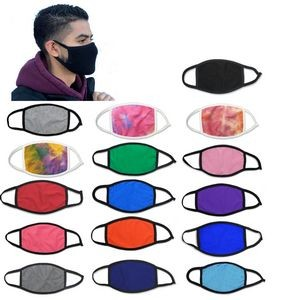 Cotton Facemask 2 PLY 100% Cotton free shipping to 48 states over 100pcs order